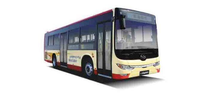 Natural Gas Electric Hybrid Bus (2 AMT), 10m/12m